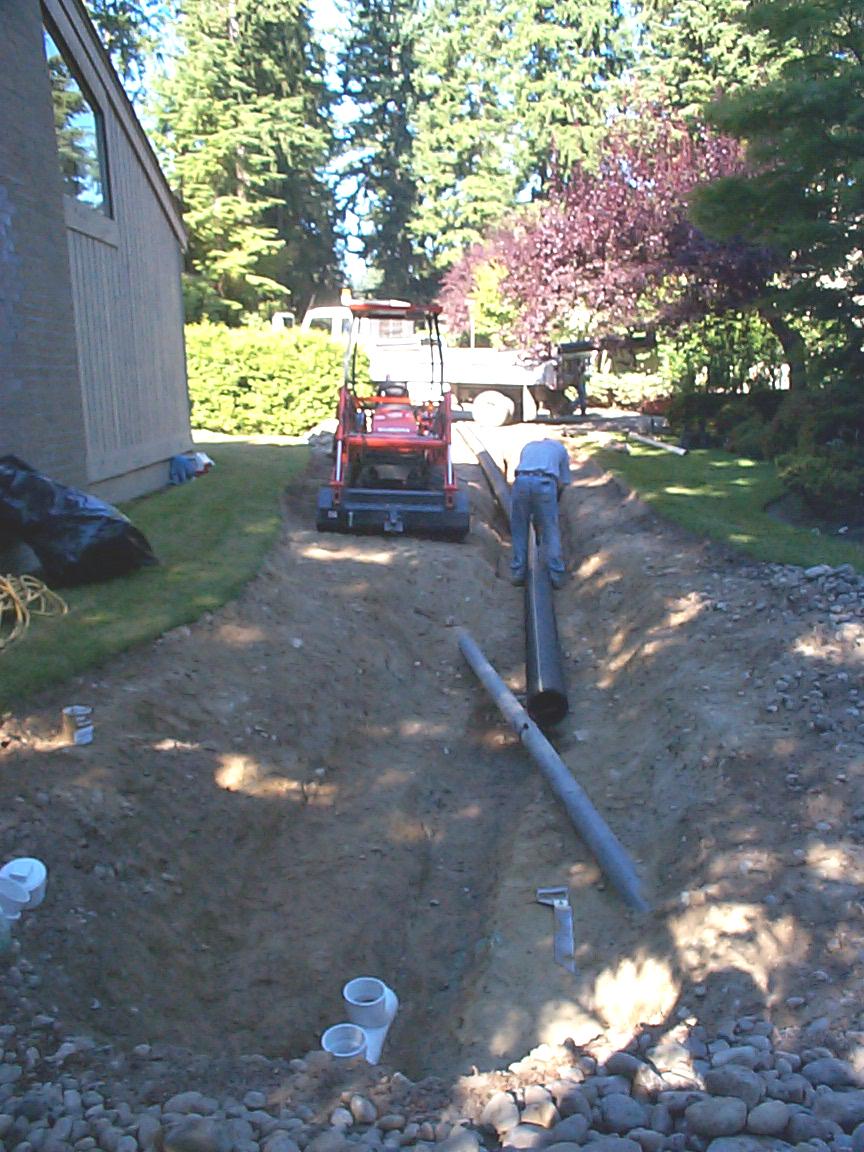 surface drain system u2014french drain allied waterproofing u0026 drainage