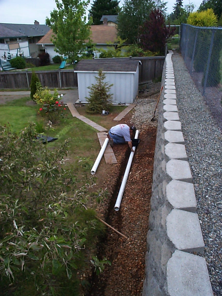 Surface Drain System French Drain Allied Waterproofing